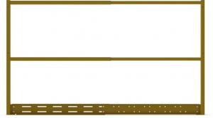 MODULAR CAR BALUSTRADE WIDE MODULE (1045-1920MM)