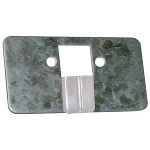 2000B 4xGUIDE SHOE HOLDER W/ GUIDE SHOE FOR FULL GLASS PANEL