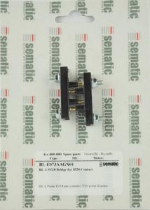 2000B 2 X PZ18 BRIDGE FOR IP20 CONTACT (STANDARD)
