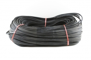 2000B RUBBER SEAL FOR GLASS DOOR FRAME PER MTR (177M ROLLS) - Click for more info